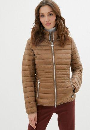 Куртка утепленная Betty Barclay. Цвет: коричневый