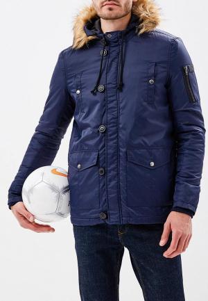 Куртка утепленная Fresh. Цвет: синий