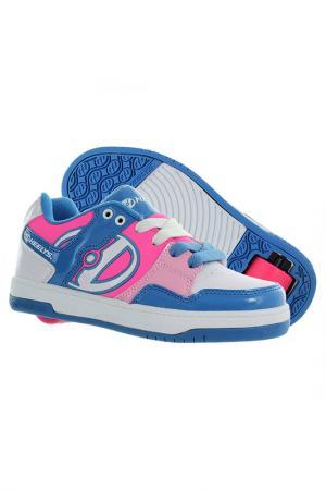 Роликовые кроссовки HEELYS. Цвет: голубой