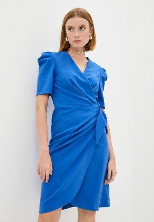 Платье Alessandro DellAcqua Dell'Acqua. Цвет: синий