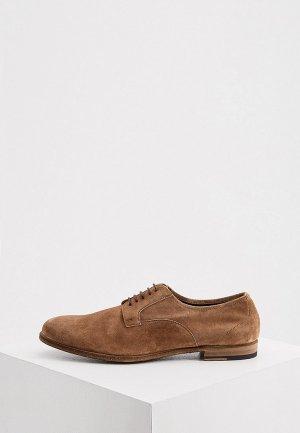 Туфли Fratelli Rossetti. Цвет: коричневый