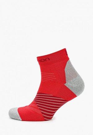 Носки Salomon. Цвет: красный