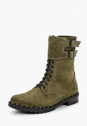 Ботинки Laura Valorosa. Цвет: зеленый