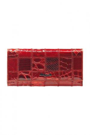 Кошелек MALGRADO. Цвет: красный