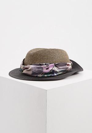 Шляпа Trussardi. Цвет: коричневый