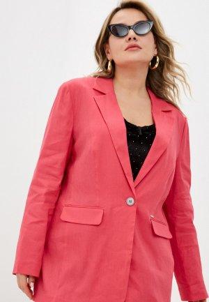 Пиджак Samoon by Gerry Weber. Цвет: розовый