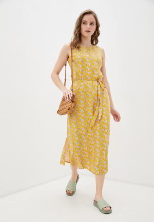 Платье Compania Fantastica. Цвет: желтый