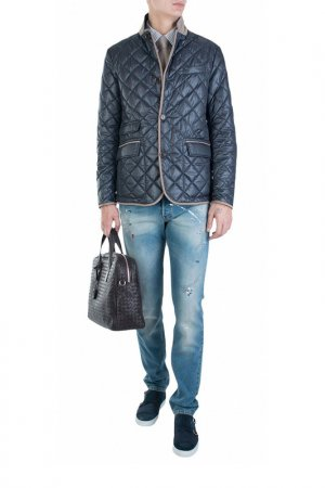 Куртка MABRUN. Цвет: синий