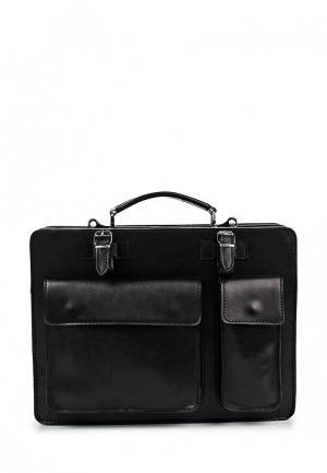 Портфель Roberta Rossi. Цвет: черный