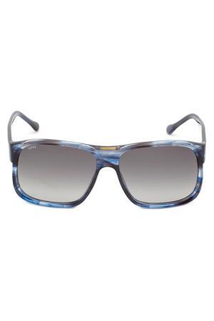 Солнцезащитные очки LOEWE. Цвет: синий
