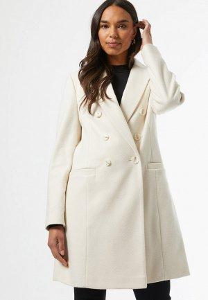 Пальто Dorothy Perkins. Цвет: белый
