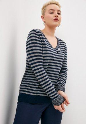 Пуловер Elena Miro. Цвет: разноцветный
