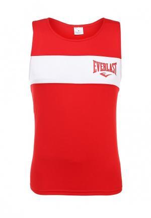 Майка спортивная Everlast. Цвет: красный