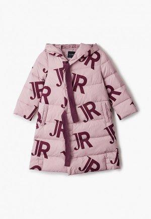 Пуховик John Richmond. Цвет: розовый