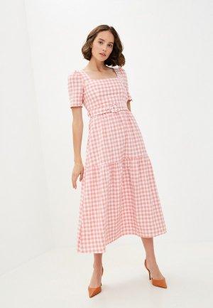 Платье Glamorous. Цвет: розовый
