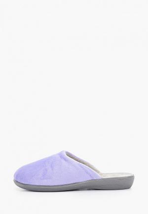 Тапочки Юничел. Цвет: фиолетовый
