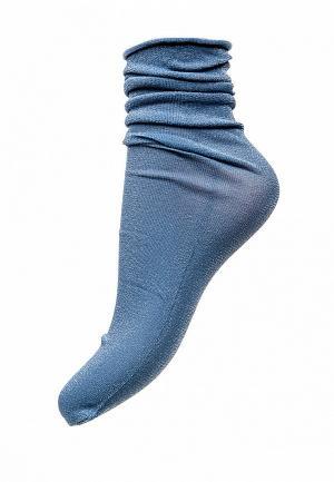 Носки Omero. Цвет: голубой