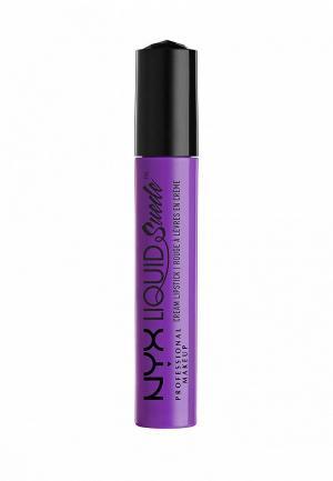 Помада Nyx Professional Makeup. Цвет: фиолетовый