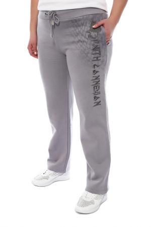 Спортивные брюки FAITH CONNEXION. Цвет: серый