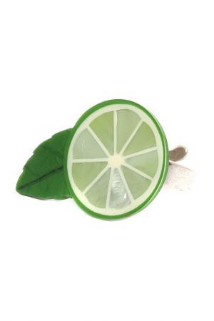 Кольцо NATURE BIJOUX. Цвет: зеленый