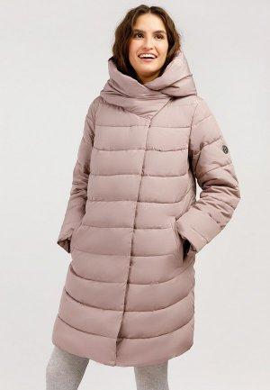 Куртка утепленная Finn Flare. Цвет: бежевый