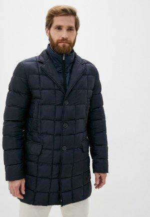 Куртка утепленная Madzerini. Цвет: синий
