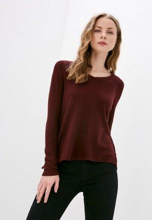 Пуловер Naf. Цвет: бордовый