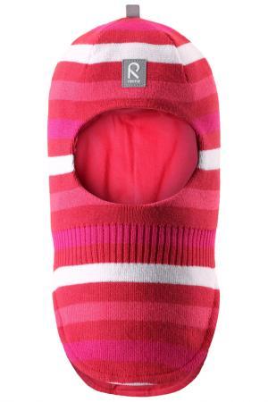Шапка-шлем REIMA. Цвет: розовый