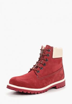 Ботинки LumberJack. Цвет: бордовый