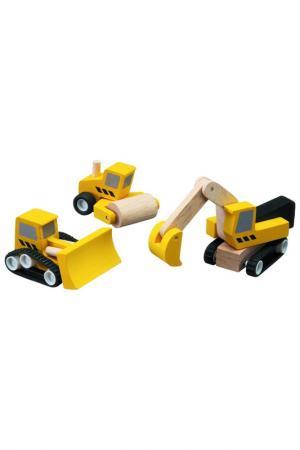Техника для дороги Plan Toys. Цвет: желтый