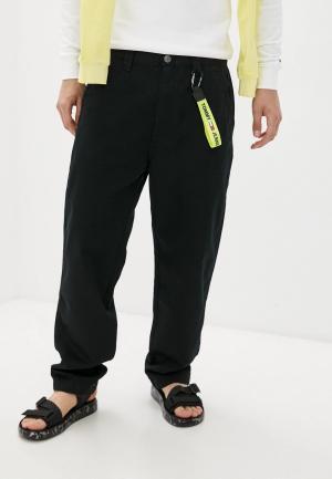 Чиносы Tommy Jeans. Цвет: черный