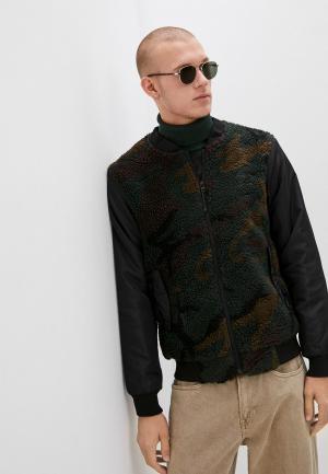 Куртка Brave Soul. Цвет: зеленый