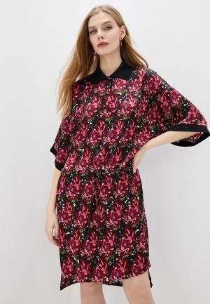 Платье John Richmond. Цвет: красный