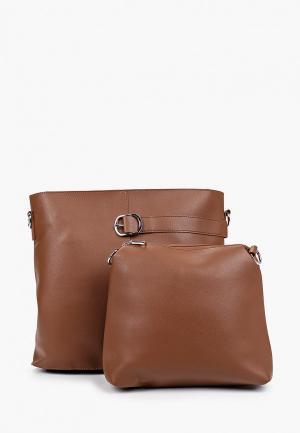 Комплект Max & Enjoy. Цвет: коричневый