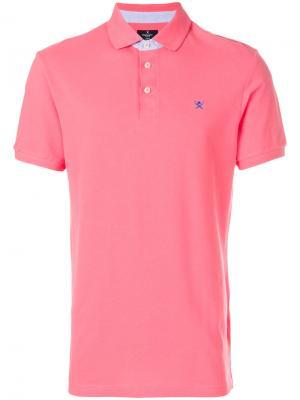 Classic polo shirt Hackett. Цвет: розовый и фиолетовый