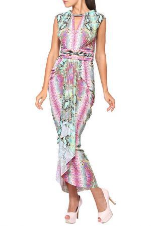 Платье пляжное LORA GRIG. Цвет: розовый