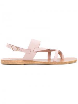 Сандалии Alethea Ancient Greek Sandals. Цвет: розовый и фиолетовый