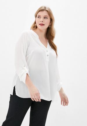 Блуза Dorothy Perkins Curve. Цвет: белый
