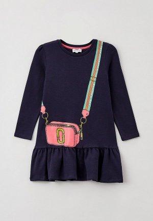 Платье Marc Jacobs. Цвет: синий