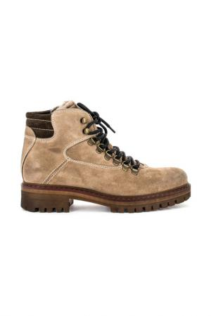 Ботинки MANAS. Цвет: коричневый