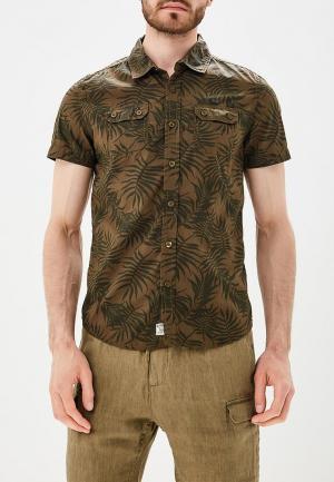 Рубашка MeZaGuz. Цвет: хаки