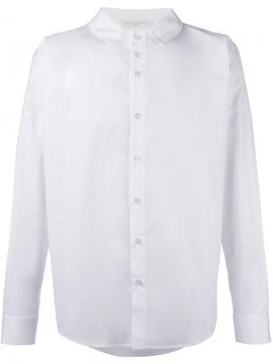 Рубашка с воротником Lucio Vanotti. Цвет: белый