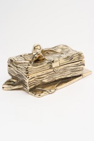Шкатулка для марок Stilars. Цвет: золотой