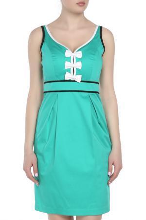 Платье Maria Grazia Severi. Цвет: зеленый