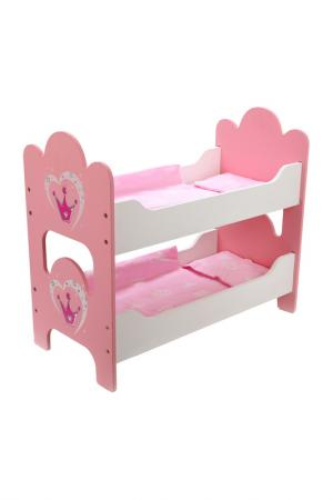 Кроватка Корона MARY POPPINS. Цвет: розовый