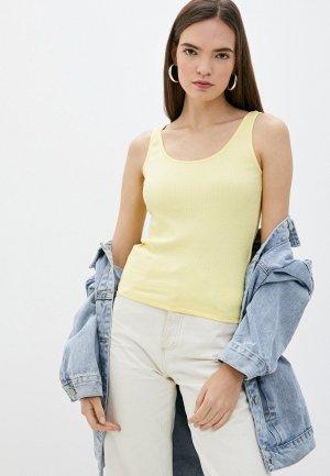 Майка adL. Цвет: желтый