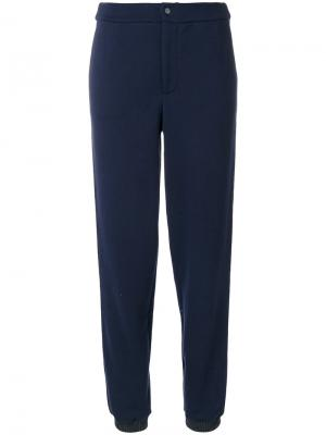 Спортивные брюки Jo No Fui. Цвет: синий
