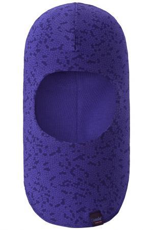 Шапка-шлем LASSIE. Цвет: синий