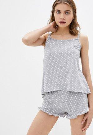 Пижама Winzor. Цвет: серый