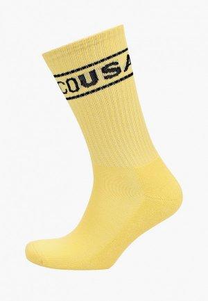 Носки DC Shoes. Цвет: желтый